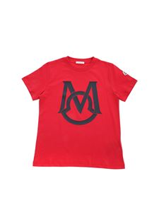 Moncler Jr - M t-shirt in red