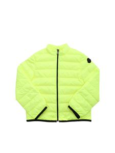Moncler Jr - Photine down jacket in neon yellow