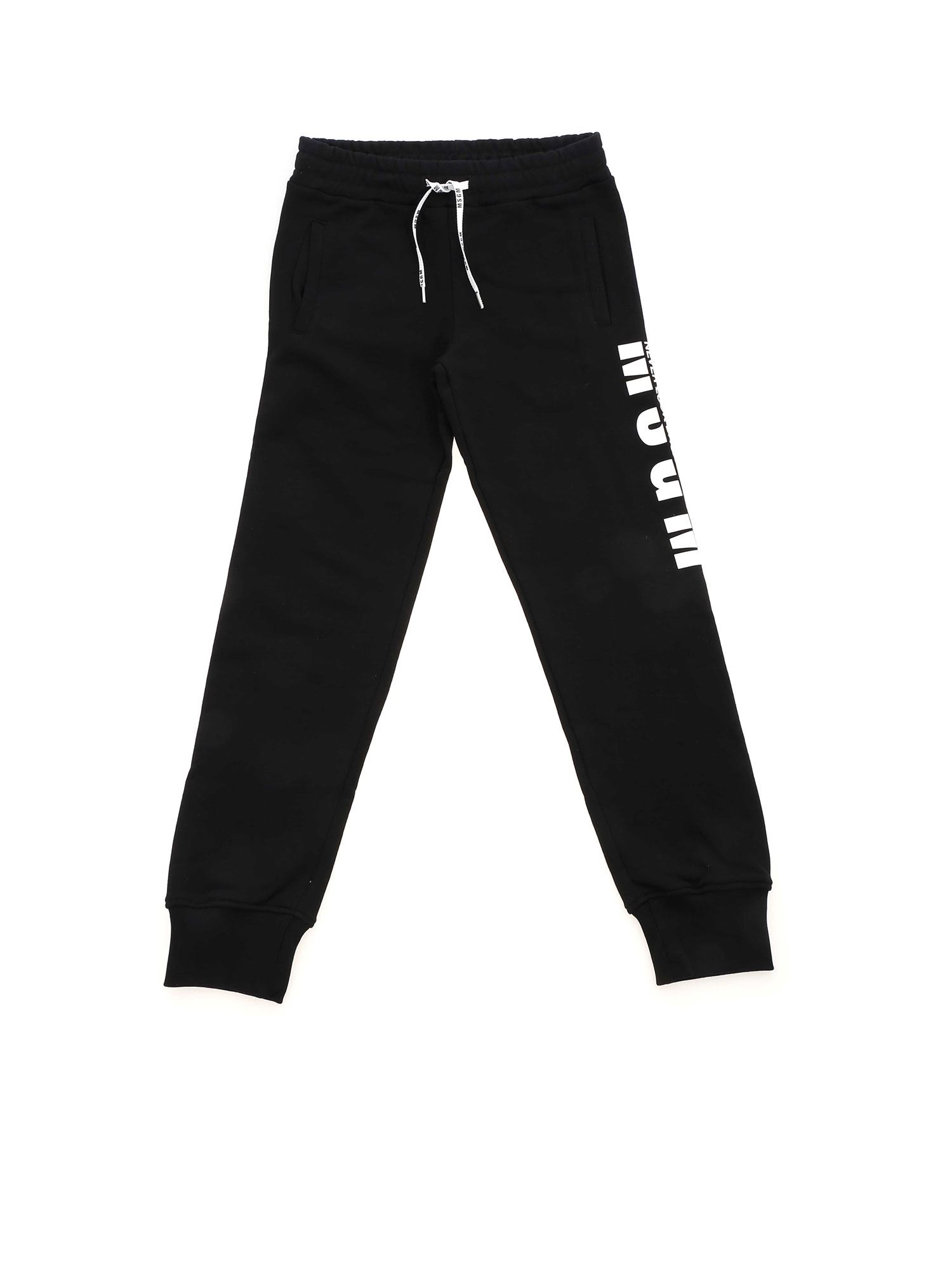 Msgm MSGM TRACKPANTS IN BLACK