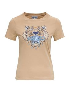 Kenzo - Classic Tiger printed T-shirt in beige