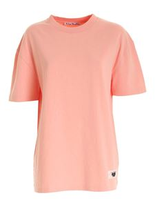 Acne Studios - New Logo T-shirt in pink
