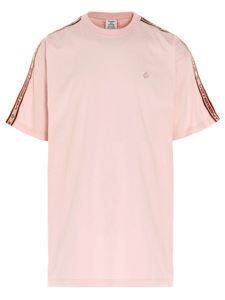 Vetements - Branded band T-shirt in pink