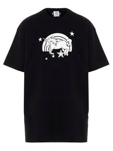 Vetements - Magic unicorn T-shirt in black