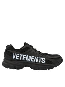 Vetements - Spike Runners sneakers in black