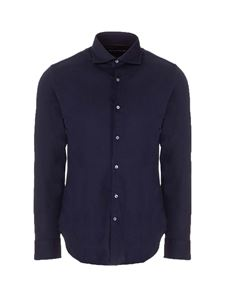 Loro Piana - Pure silk shirt in blue