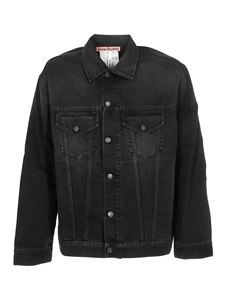 Acne Studios - Denim jacket in washed black