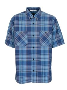 Acne Studios - Checked shirt in blue