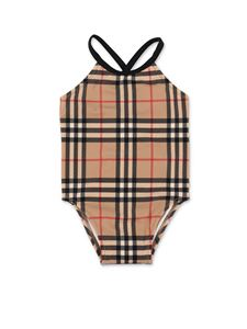 Burberry - One-piece swimsuit in Vintage Check beige