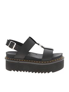 Dr. Martens - Buckle Francis sandals in black