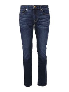 7 For All Mankind - Ronnie Special Edition Dorado jeans in blue