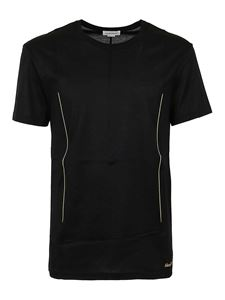 Alexander McQueen - Cotton jersey T-shirt in black