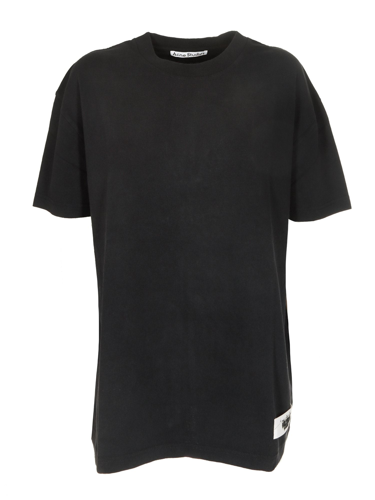 Acne Studios NEW LOGO T-SHIRT IN BLACK