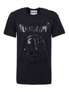 Moschino - Double Question Mark T-shirt in black