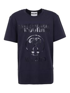 Moschino - Double Question Mark T-shirt in blue