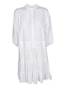 See by Chloé - Ruffled dress in white