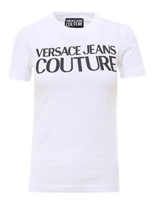 Versace Jeans Couture - Logo print T-shirt in white