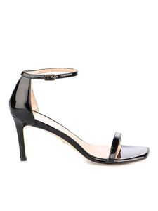 Stuart Weitzman - Patent leather Amelina sandals