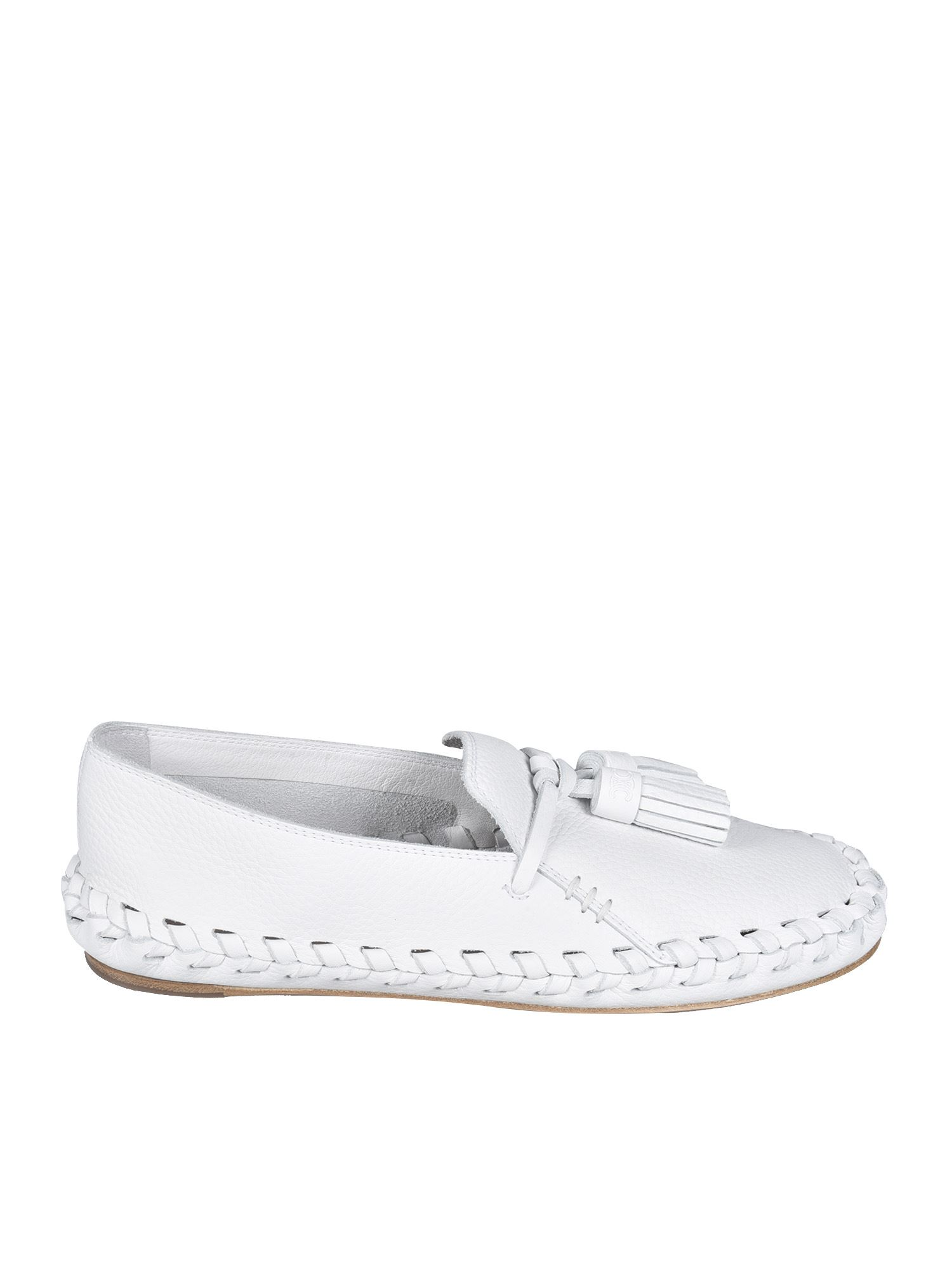 Celine MARLOU LOAFERS IN WHITE