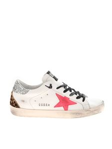 Golden Goose - Sneakers Superstar Classic bianche e animelier