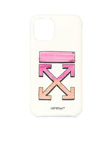 Off-White - Arrow printed cover for iPhone 11 Pro