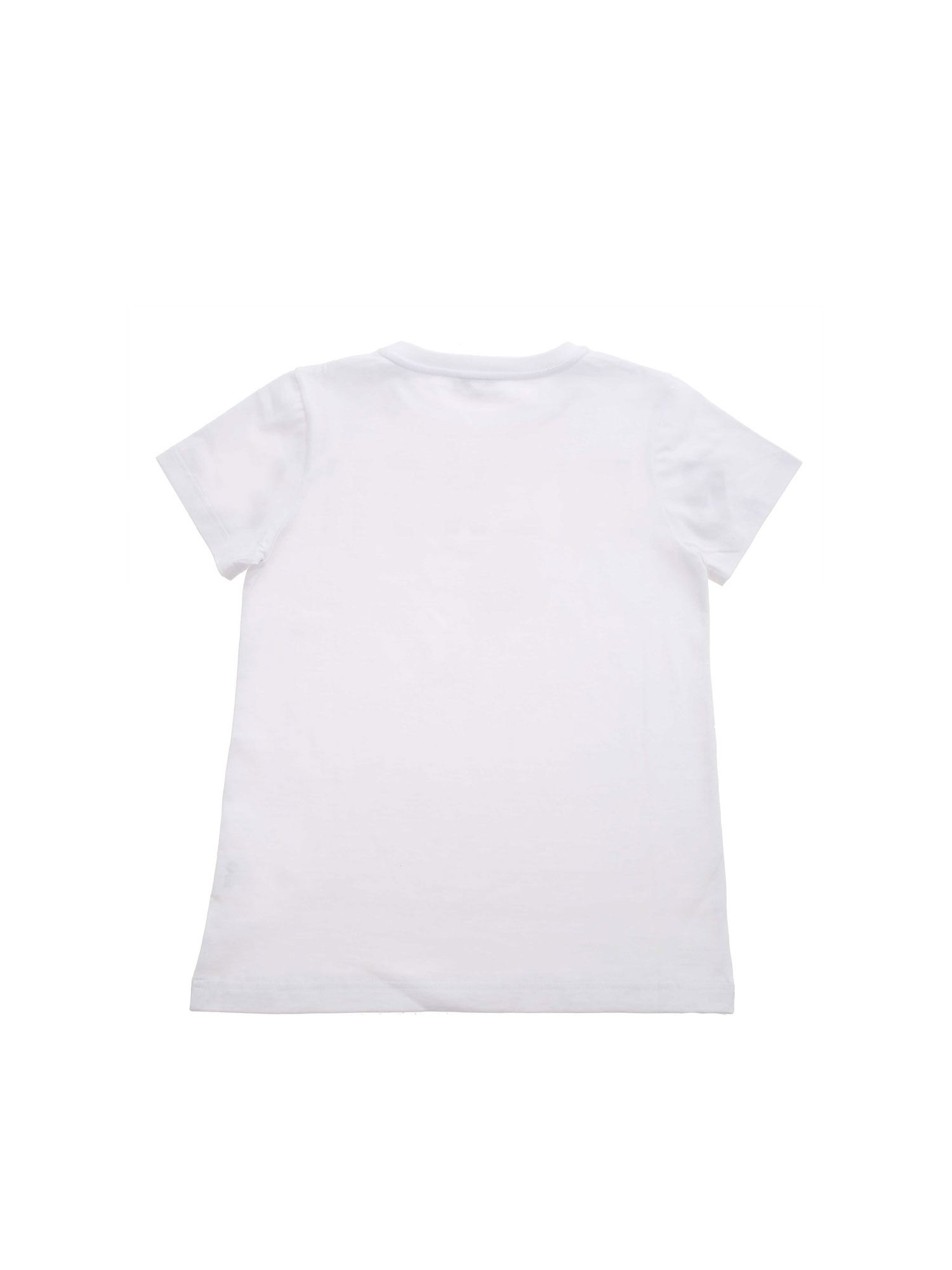 GIVENCHY Cottons CAMOUFLAGE LOGO PRINT T-SHIRT IN WHITE