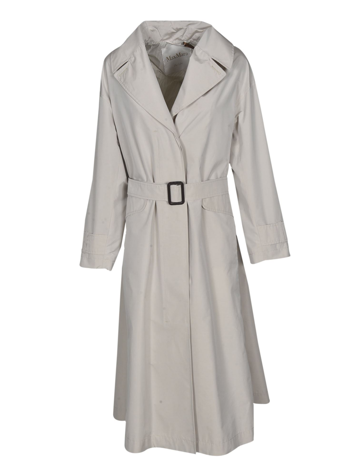 Max Mara EIMPER TRENCH COAT IN ECRU COLOR