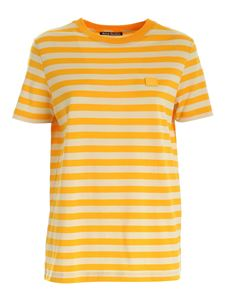 Acne Studios - Striped T-shirt in Deep Yellow