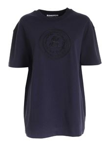 Acne Studios - Embroidery T-shirt in blue