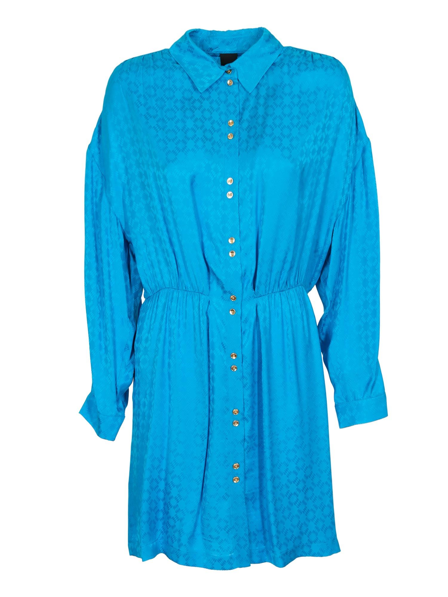 Pinko PINKO DEGNO DRESS IN BLUE