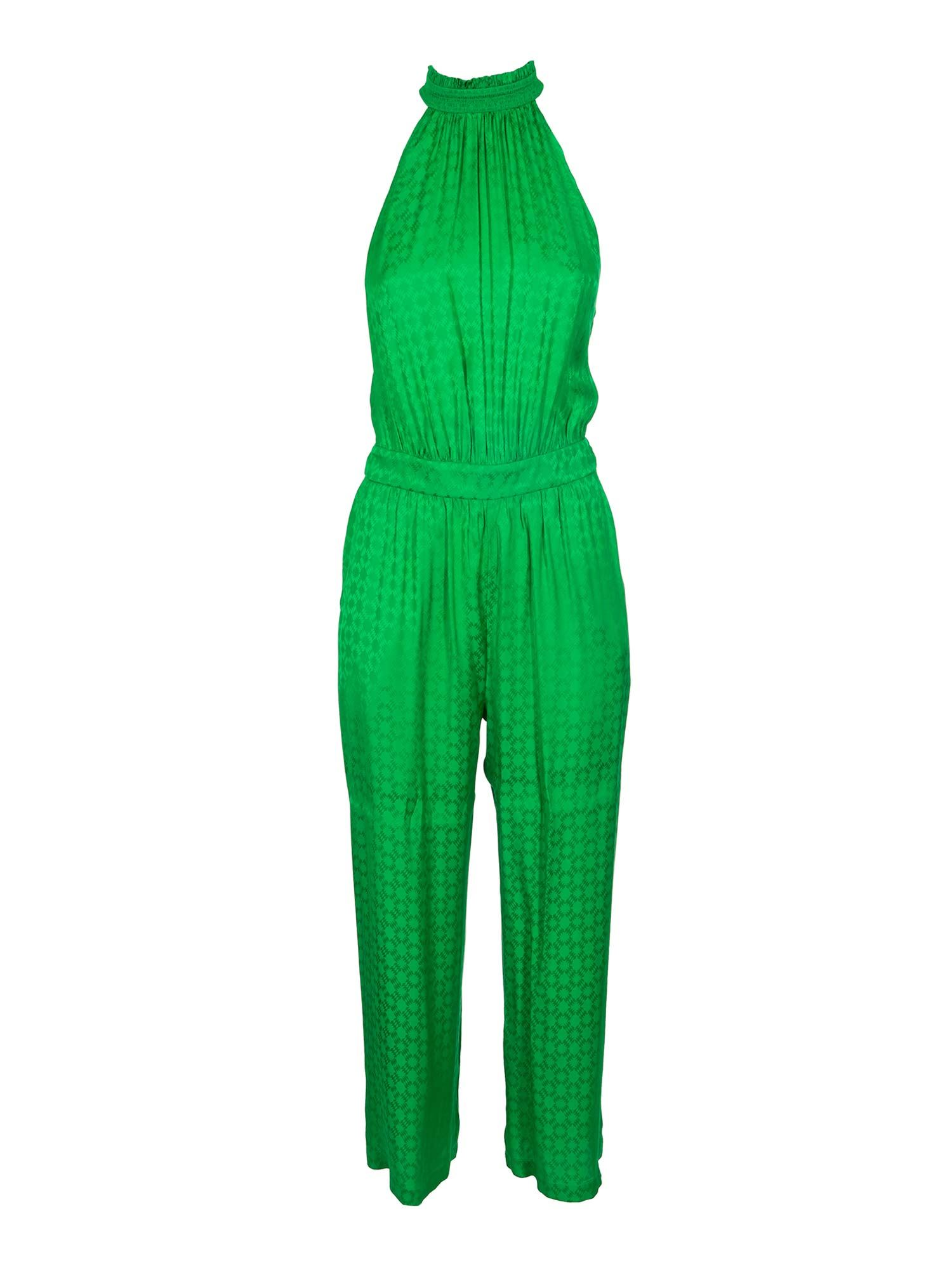 Pinko PINKO SPENTO JUMPSUIT IN GREEN