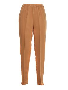 Forte Forte - Elasticated waist pants in The color