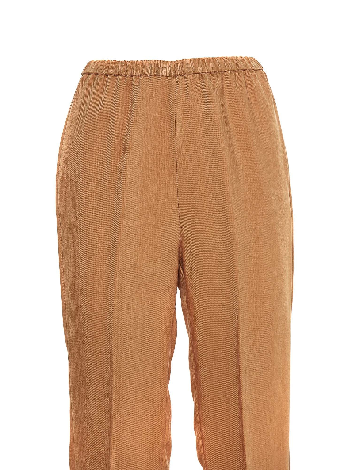 FORTE FORTE Pants ELASTICATED WAIST PANTS IN THE COLOR