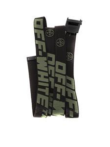 Off-White - Industrial Belt in black and green