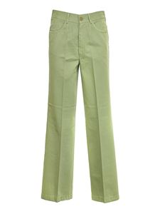 Forte Forte - Wide leg trousers in Mint color