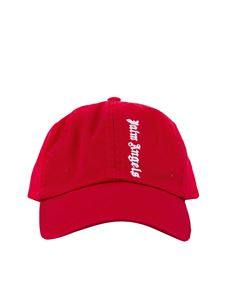 Palm Angels - Logo baseball cap in red
