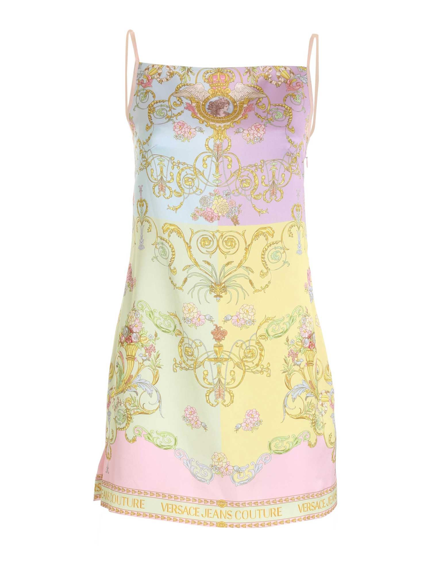 Versace Jeans Couture Tops BAROQUE PRINT MULTICOLOR TOP