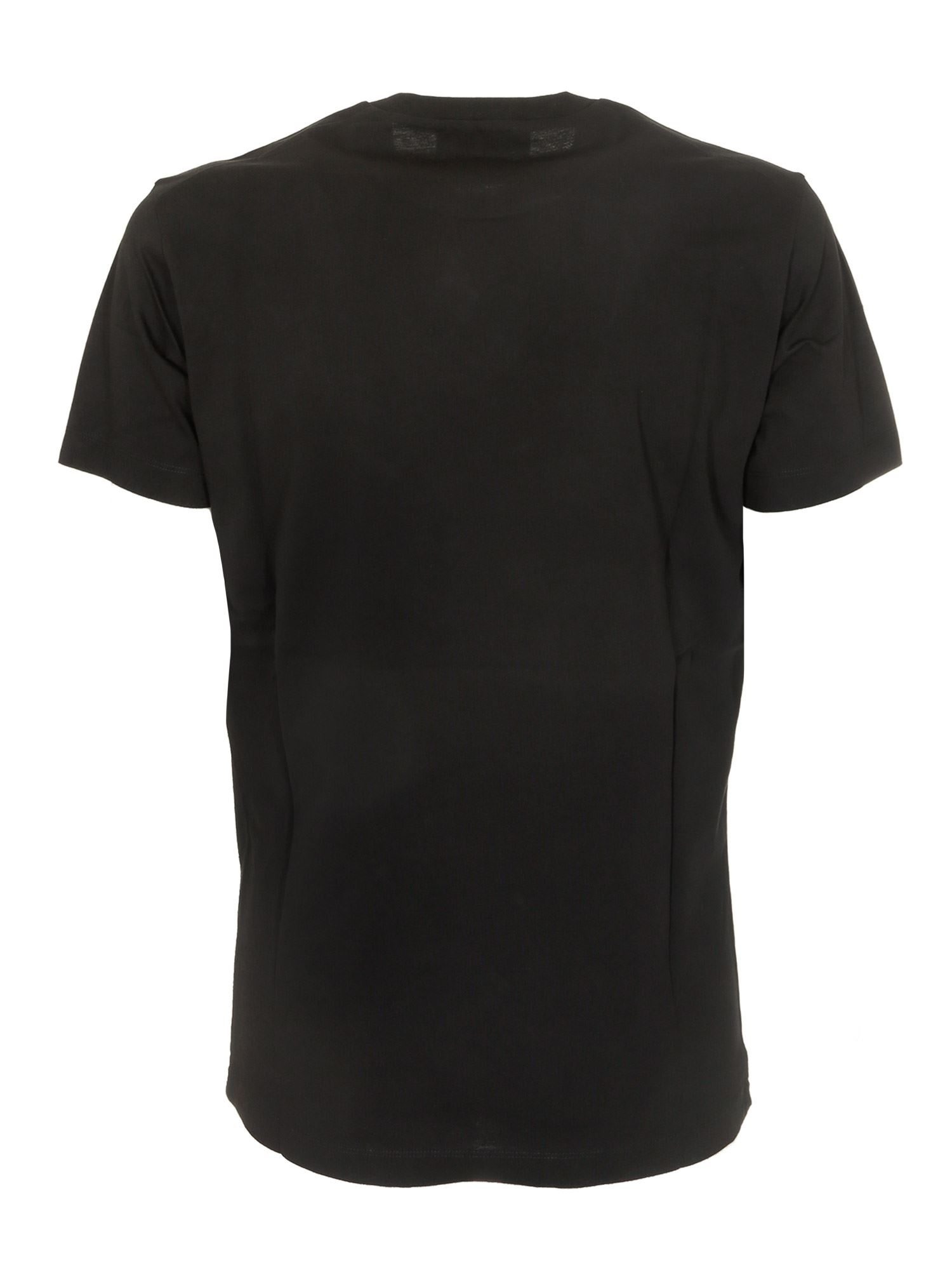 DSQUARED2 Cottons TAPED2 T-SHIRT IN BLACK