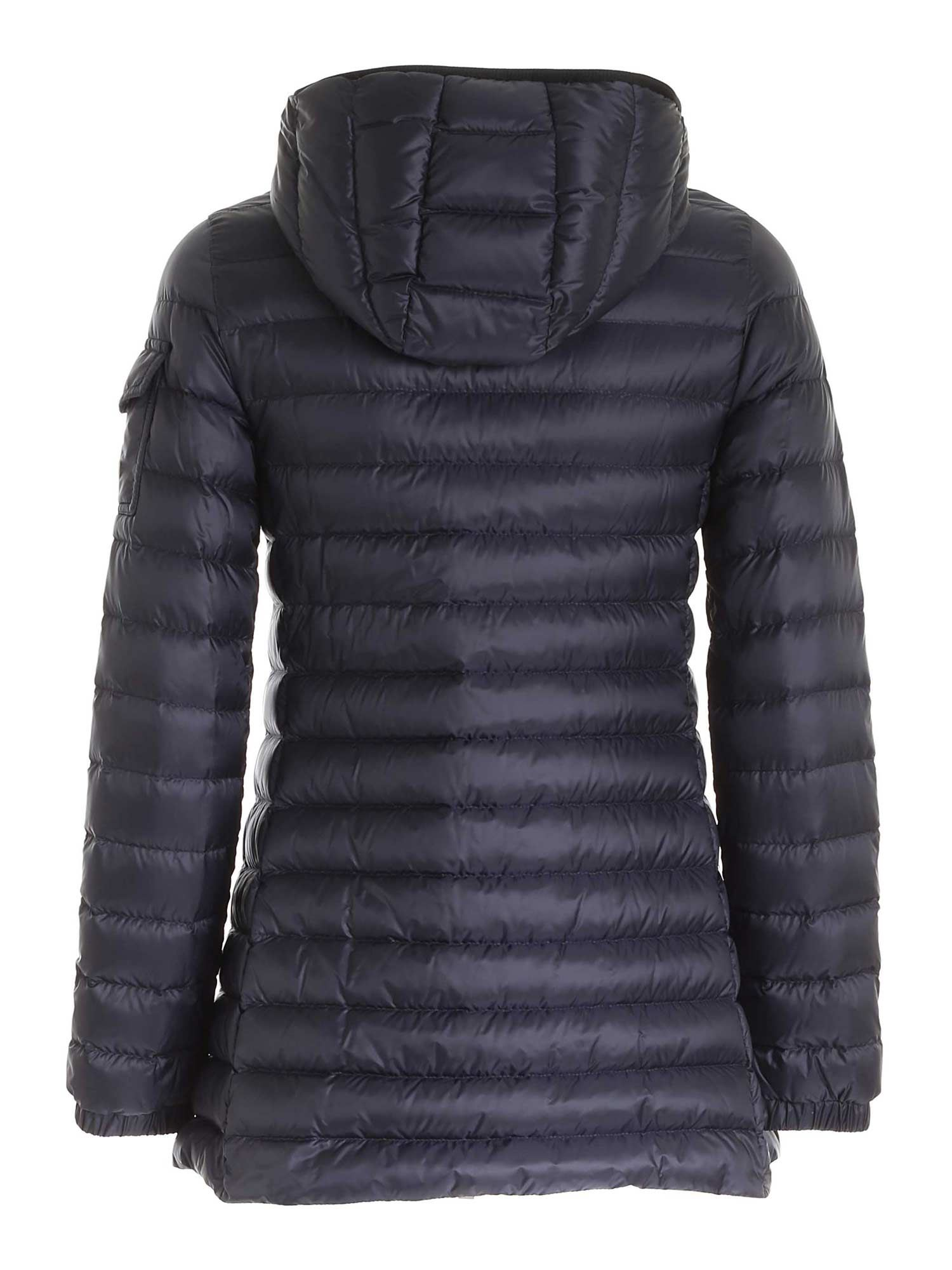 MONCLER Downs MENTS QUILTED DOWN JACKET IN BLUE