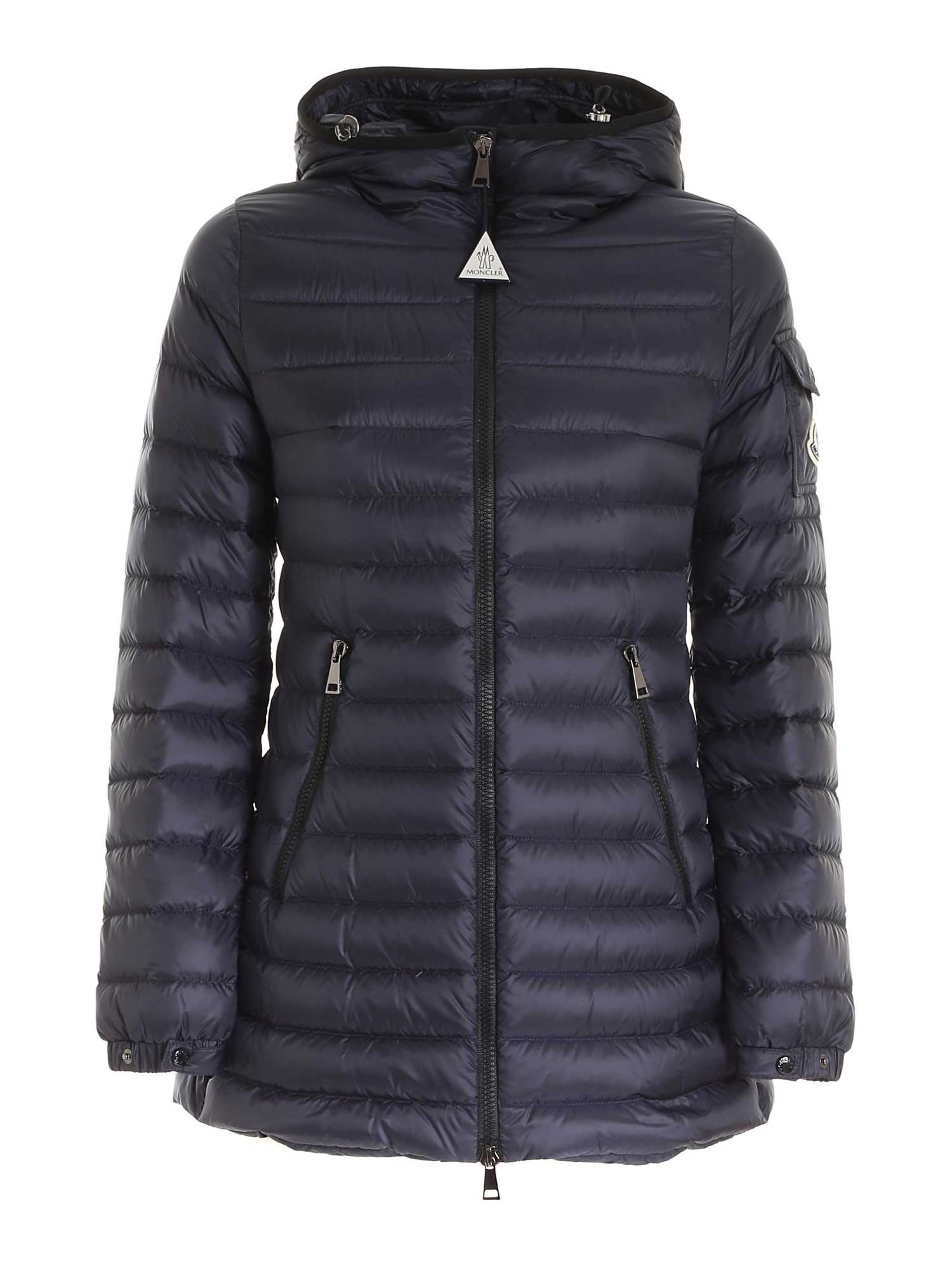 Moncler MENTS QUILTED DOWN JACKET IN BLUE