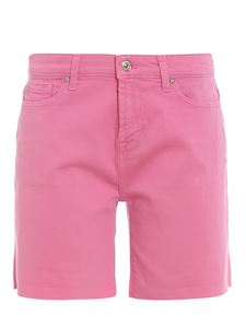 7 For All Mankind - Boy Shorts cotton shorts in pink