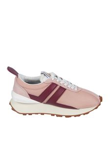 Lanvin - Bumper sneakers in Blush and Red