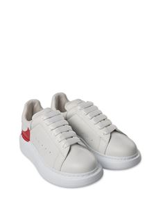 Alexander McQueen Kids - Oversize white and red sneakers