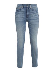 POLO Ralph Lauren - Tompkins skinny jeans in light blue