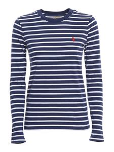 POLO Ralph Lauren - Striped long sleeved T-shirt in blue
