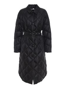 Burberry - Mablethorpe padded coat in black