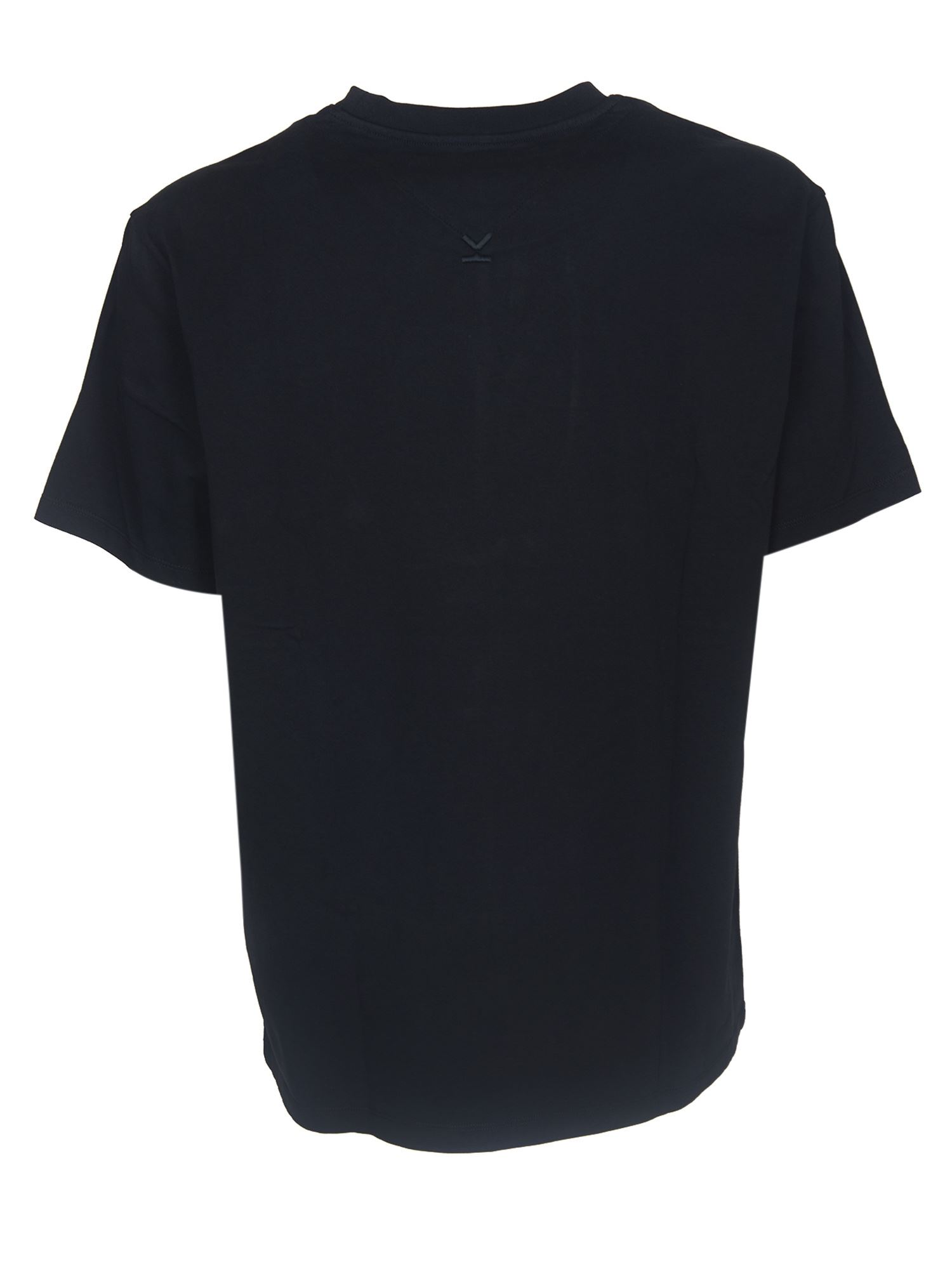 KENZO Cottons TIGER CREST T-SHIRT IN BLACK