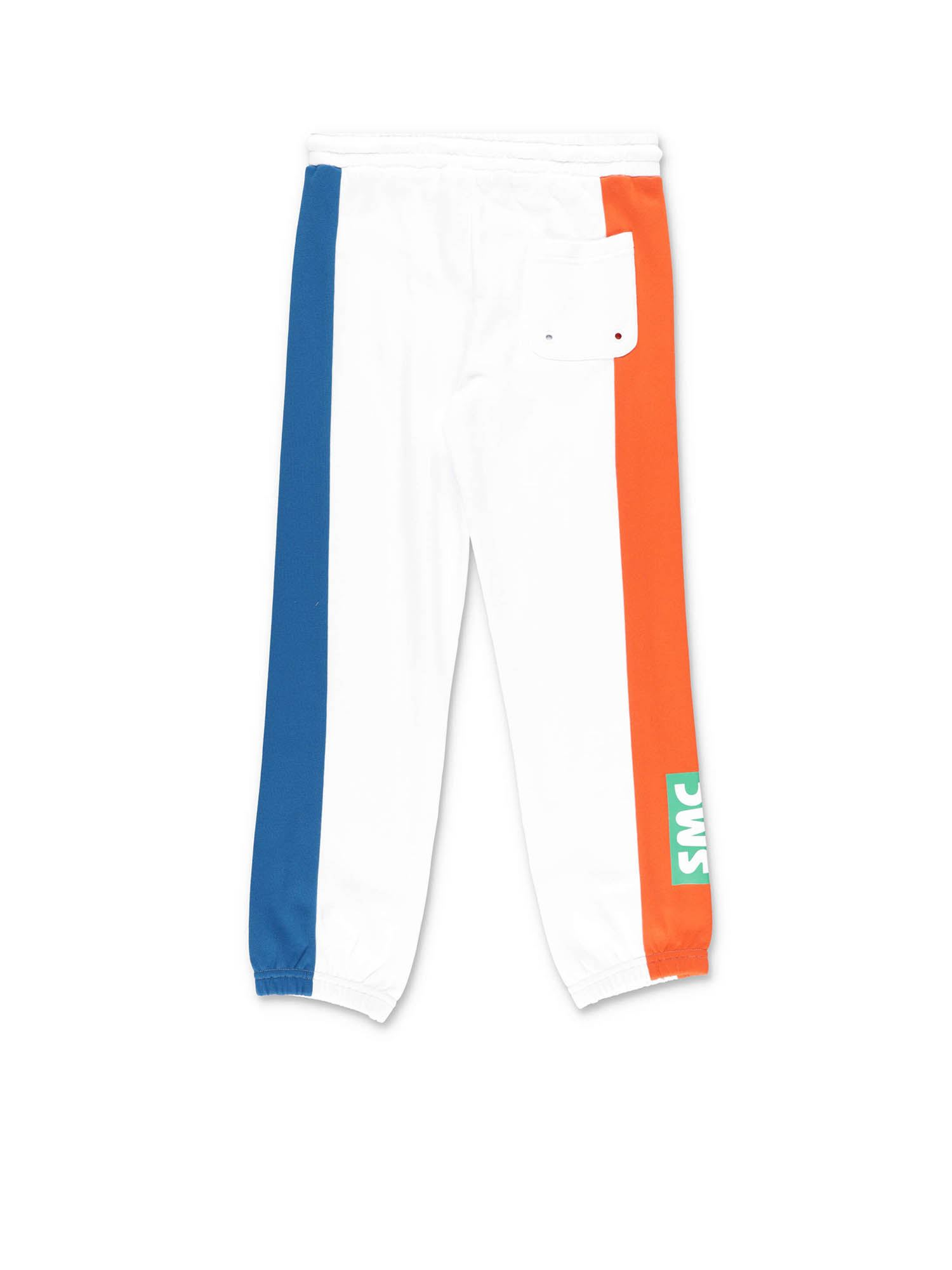 STELLA MCCARTNEY Cottons TRACKSUIT PANTS IN WHITE