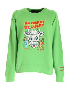 Marc Jacobs  - Magda Archer sweatshirt in green