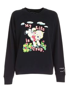 Marc Jacobs  - Magda Archer sweatshirt in black