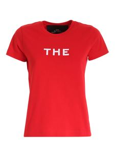 Marc Jacobs  - Embroidery T-shirt in red